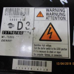 Nissan Navara D40 2500 Diesel anno dal 2005 al 2010 Centralina motore ECU 275830-4730  YD25