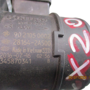 HYUNDAI i20 i30 i40 ix20 ix35 KIA Rio Ceed Soul Sportage Carens Venga 1500/1600/1700 Diesel anno dal 2010 al 2019 Debimetro flussometro Kefico 9021050002 28164-2A500 345870341