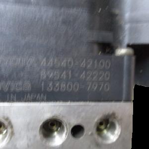 Toyota Rav4  3° serie anno dal 2006 al 2013 gruppo ABS 44540-42100 89541-42220 133800-7970