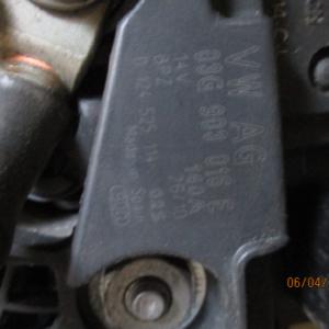Audi Q5 2000 Diesel anno dal 2008 al 2012 Alternatore 03G903016E 0124525114 140A
