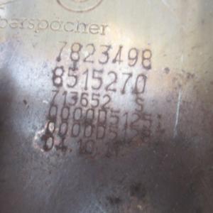 Bmw Serie 1 F20 116D anno dal 2011 al 2017 Catalizzatore EBERSPACHER 7823498 8515270 euro 6