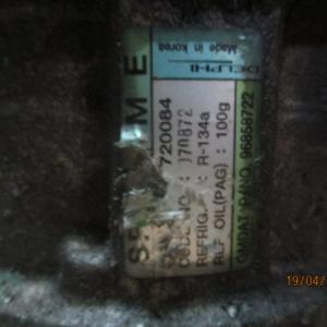 Chevrolet Matiz anno dal 2005 al 2010 Compressore aria condizionata 96858722