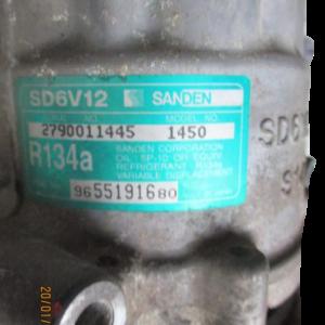 Citroen C2 e C3 1°serie Peugeot 1007 e 207 anno dal 2003 al 2009 Compressore aria condizionata  9655191680