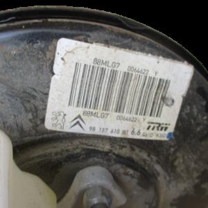 Citroen C3 Aircross 1600 Diesel anno dal 2016 in poi Servofreno 9813761080 88MLG7