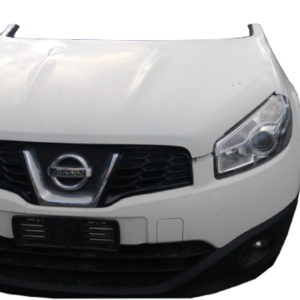 Nissan Qashqai 1500 Diesel anno dal 2007 al 2013 Muso Musata anteriore completa bianca