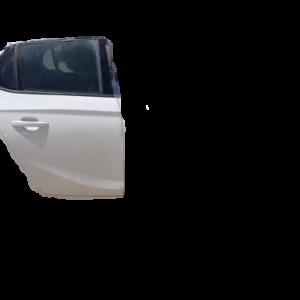 Opel Corsa F anno dal 2019 in poi Porta posteriore destra bianca