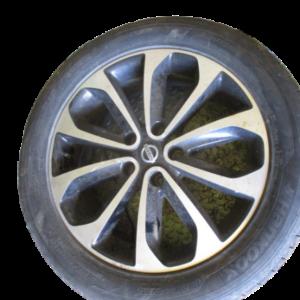 Nissan Qashqai 1500 Diesel anno dal 2007 al 2013 Cerchi in lega disco 18 bicolore