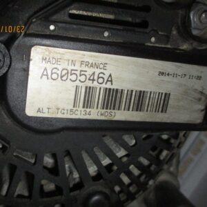 Citroen C5 Station Wagon 2000 Diesel anno 2010 Alternatore A605546A  CAL15107GS