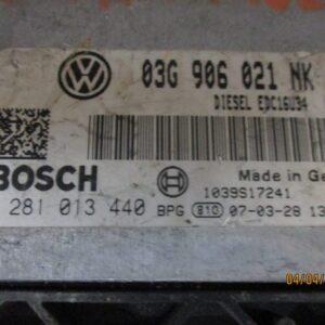 Volkswagen Passat Station Wagon 2000 Diesel anno 2008 Centralina motore 0281013440 03G906021NK