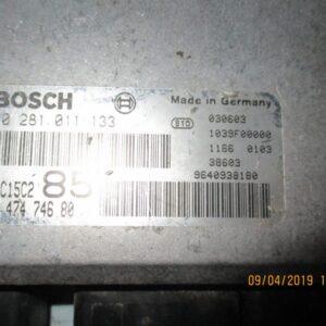 Lancia Phedra 2200 Diesel anno 2004 Centralina motore 0281011133 3647474680.