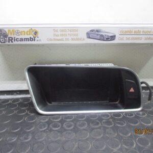 Audi Q5 anno dal 2008 al 2017 Display stereo navigatore 8F0919604