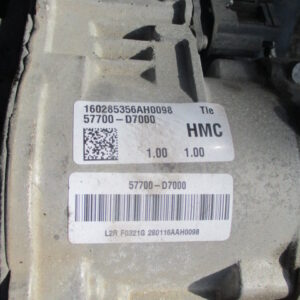 Hyundai Tucson 1700 Diesel anno 2017 Scatola Guida 160285356AH0098.