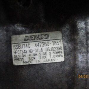 Bmw Serie 1 2000 Diesel Compressore aria condizionata 6SBU14C 447260-1851