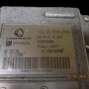 Opel Astra 1400 Benzina anno 2015 Centralina motore 25194624  591322000  616070000