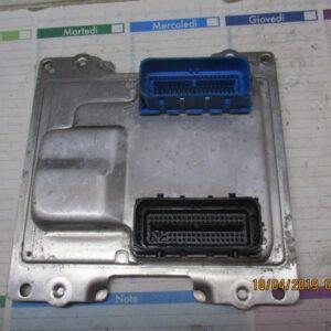centralina motore 12673618 401287396 12672780 opel karl 1.0 12v b10xe 24000 km