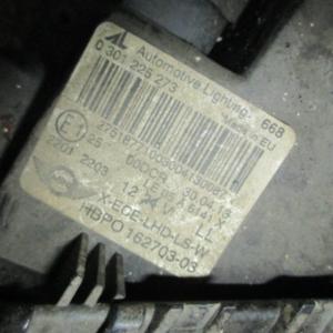 Mini Cooper r56 D 2000 Diesel anno dal 2010 al 2014 fanale anteriore  sinistro bi Xenon 0301225273 HBP0 162703-03
