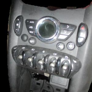 Mini Cooper D 2000 Diesel R56 anno dal 2006 al 2014 Comandi climatizzatore  3457347