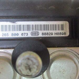 Fiat Panda 1300 Diesel anno 2006 Abs 0265800673 0265232021.