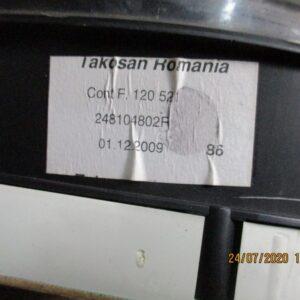 Dacia Sandero 1400 Benzina anno 2010 Quadro strumenti 248104802R