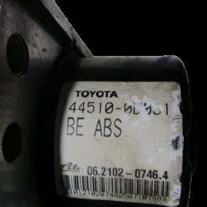 Toyota Yaris 1000 Benzina anno 2006 Abs 89541-0D040 44510-0D031 06.2102-0746.4