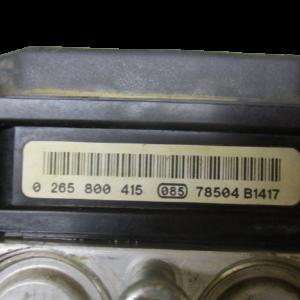 Citroen Berlingo 1600 Diesel anno 2007 Abs 0265231522  0265800415