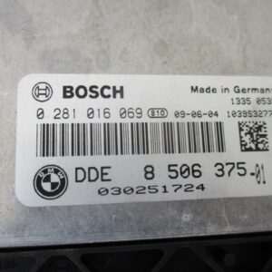 Bmw Serie 1 E87 2000 Diesel anno dal 2004 al 2013 Centralina motore 0281016069 8506375-01