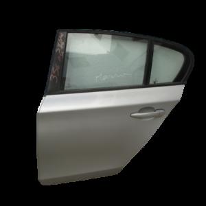 Bmw Serie 1 anno dal 2004 al 2011 Porta portiera sportello posteriore sinistra grigio chiaro