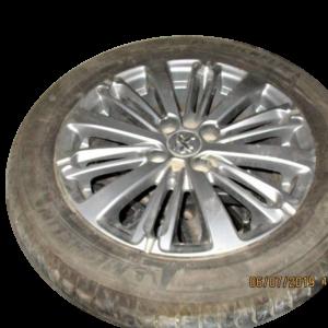 Peugeot 208 anno 2015 N° 4 cerchi in lega R16