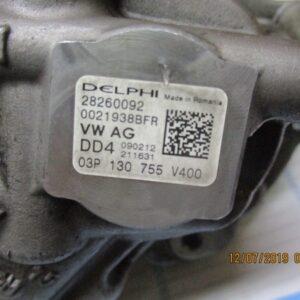 Volkswagen Polo Seat Ibiza Skoda Fabia Audi A1 1200/1400  Diesel anno dal 2009 al 2017 Pompa iniezione alta pressione 28260092 03P130755 V400