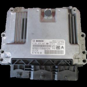 Citroen C3 Picasso 1600 Diesel anno 2012 Centralina motore 0281015847 9674245180.