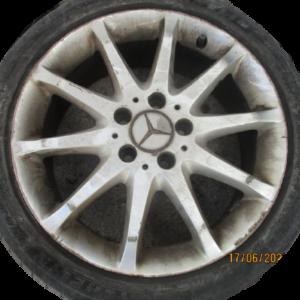 Mercedes Classe A w169 anno dal 2005 al 2011 N°4 Cerchi in lega R17.