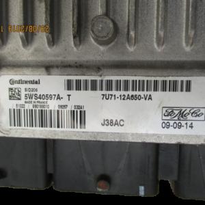 Ford Kuga 2000 Diesel anno 2010 Centralina motore 5WS40597A-T 7U71-12A650-VA
