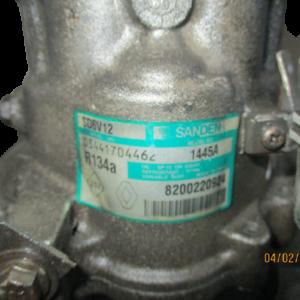 Nissan Micra k12 Qashqai NV200 Renault Clio Modus anno dal 2002 al 2010 Compressore aria condizionata sanden 8200220924