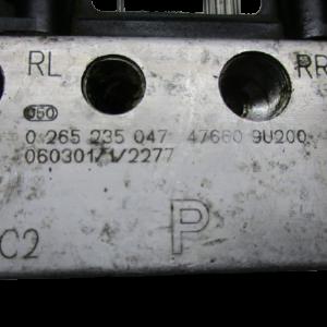 Nissan Note 1500 Diesel anno dal 2004 al 2013 Pompa e centralina Abs 0265950496 0265235047 08568113 C025747660 9U200