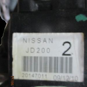 Nissan Qashqai 1500 Diesel anno dal 2007 al 2013 leva marce con Pomello cambio e cuffia  6 marce Nissan JD200 2 20147011