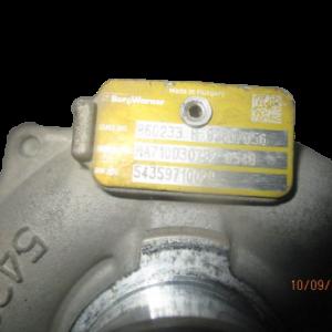 Renault Clio Kangoo Modus Megane Scenic  Twingo Dacia Duster Nissan Note NV200 1500 Diesel anno dal 2005 al 2013 Turbina 860233H82307056 54359710029