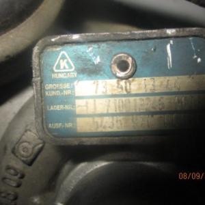 Toyota Avensis Corolla 2000 Diesel d4d anno dal 2003 al 2008 Turbina 17201-0G010 727210-1
