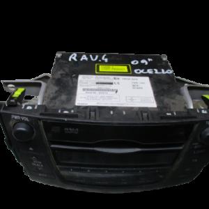 Toyota Rav4  anno dal 2006 al 2013 stereo radio 86120-42280