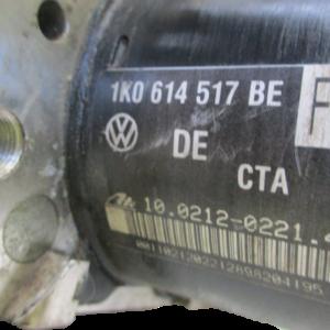 Audi A3 8P  golf seat skoda anno dal 2007 al 2013 Abs 1K0614517BE 10.0212-0221.4 1K0907379AE