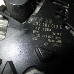 Audi A4/A5/A6  2700 Diesel anno dal 2004 al 2012 Alternatore 059903018E 0121715076