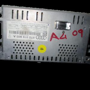 Audi A4 B8 anno dal 2008 al 2012 monitor display navigatore 8T0919603A originale usato