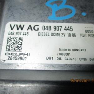 Audi A1 1400 Diesel anno dal 2010 Centralina motore Delphi 28459901 04B907445