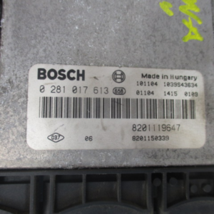 Renault Laguna  2000 Diesel   dal 2007 al 2015 Centralina motore Bosch 0281017613 82001119647