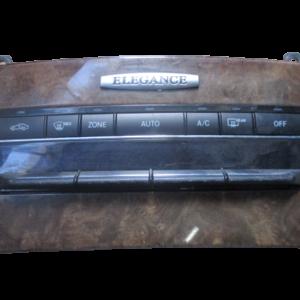 Mercedes Classe E W212 220 Diesel anno dal 2009 al  2013 Comandi climatizzatore A2129009109 A2128300285