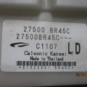 Nissan Qashqai 1500 Diesel anno dal 2007 al 2013 Comandi Climatizzatore digitali   27500 BR45C