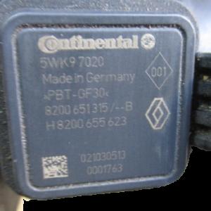 Nissan Qashqai 1500 Diesel anno dal 2007 al 2013 Debimetro Flussometro Continental 5WK97020 H8200655623 8200651315