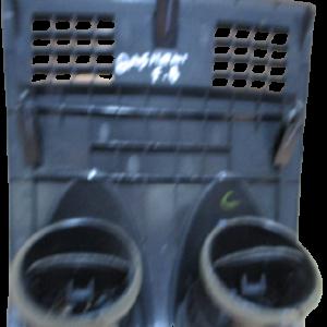 Nissan Qashqai 1500 Diesel anno dal 2007 al 2013 Mascherina cruscotto con prese aria centrali