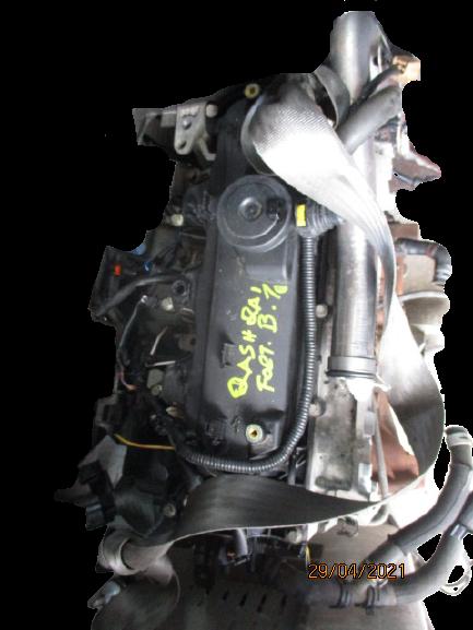 Nissan Qashqai 1500 Diesel anno dal 2007 al 2013 Motore semicompleto K9K