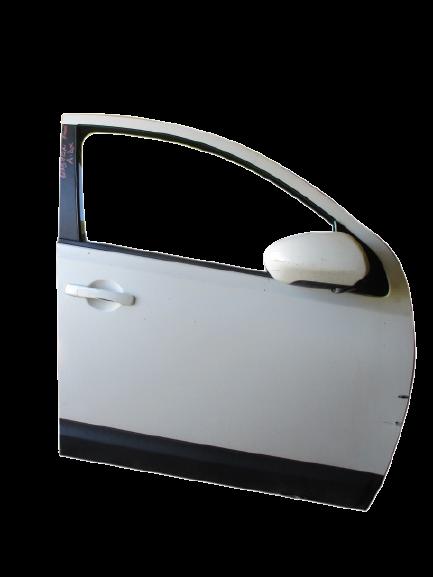 Nissan Qashqai anno dal 2007 al 2013 Porta anteriore destra bianca