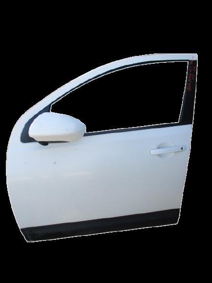 Nissan Qashqai anno dal 2007 al 2013 Porta anteriore sinistra bianca